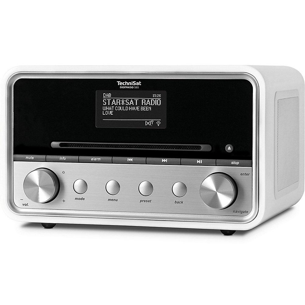 TechniSat DIGITRADIO 580 UKW/DAB  WLAN CD Multiroom weiß