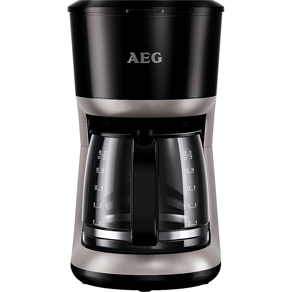 AEG KF 3300 Kaffeeautomat Perfect Morning Schwarz