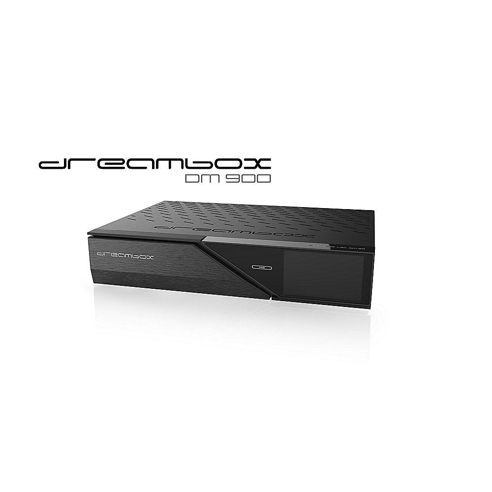 Dreambox DM900 4K UHD SAT-Receiver mit 2TB Festplatte