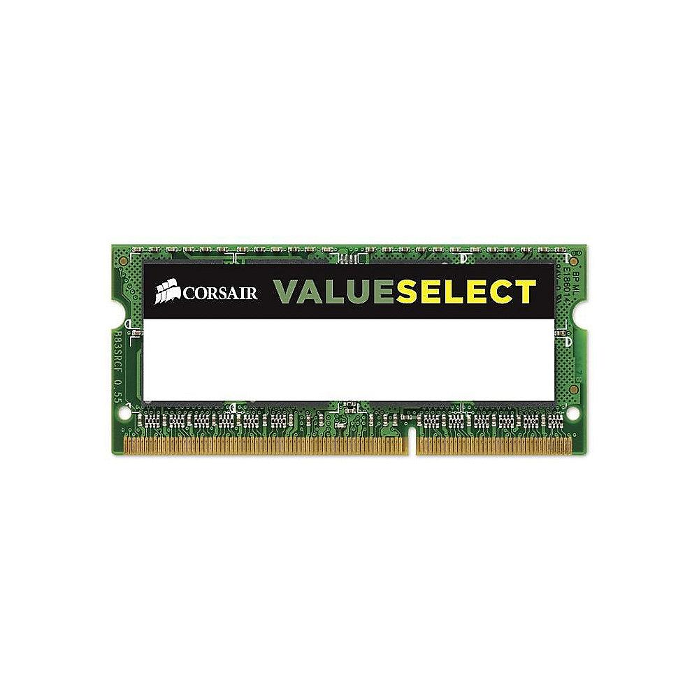 2GB Corsair ValueSelect DDR3-1066 CL7 (7-7-7-20) RAM SO-DIMM Speicher