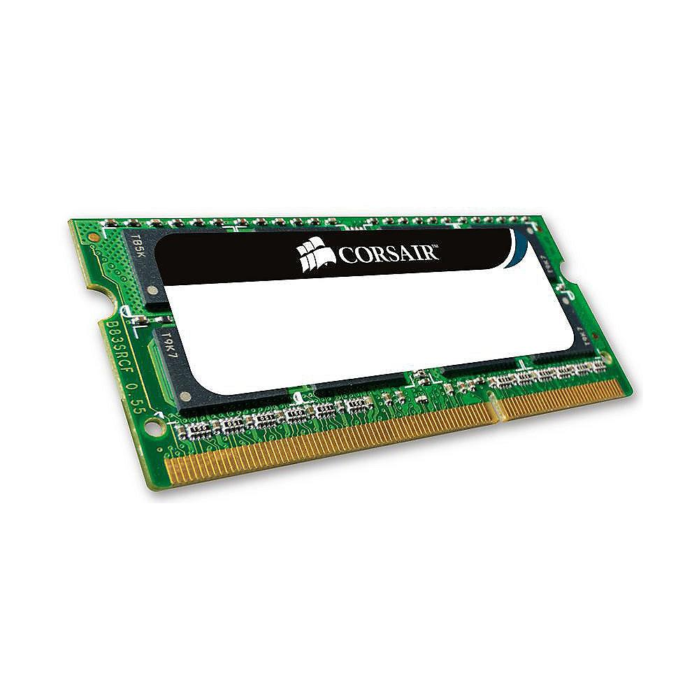 4GB Corsair ValueSelect DDR3-1066 CL7 (7-7-7-20) RAM SO-DIMM
