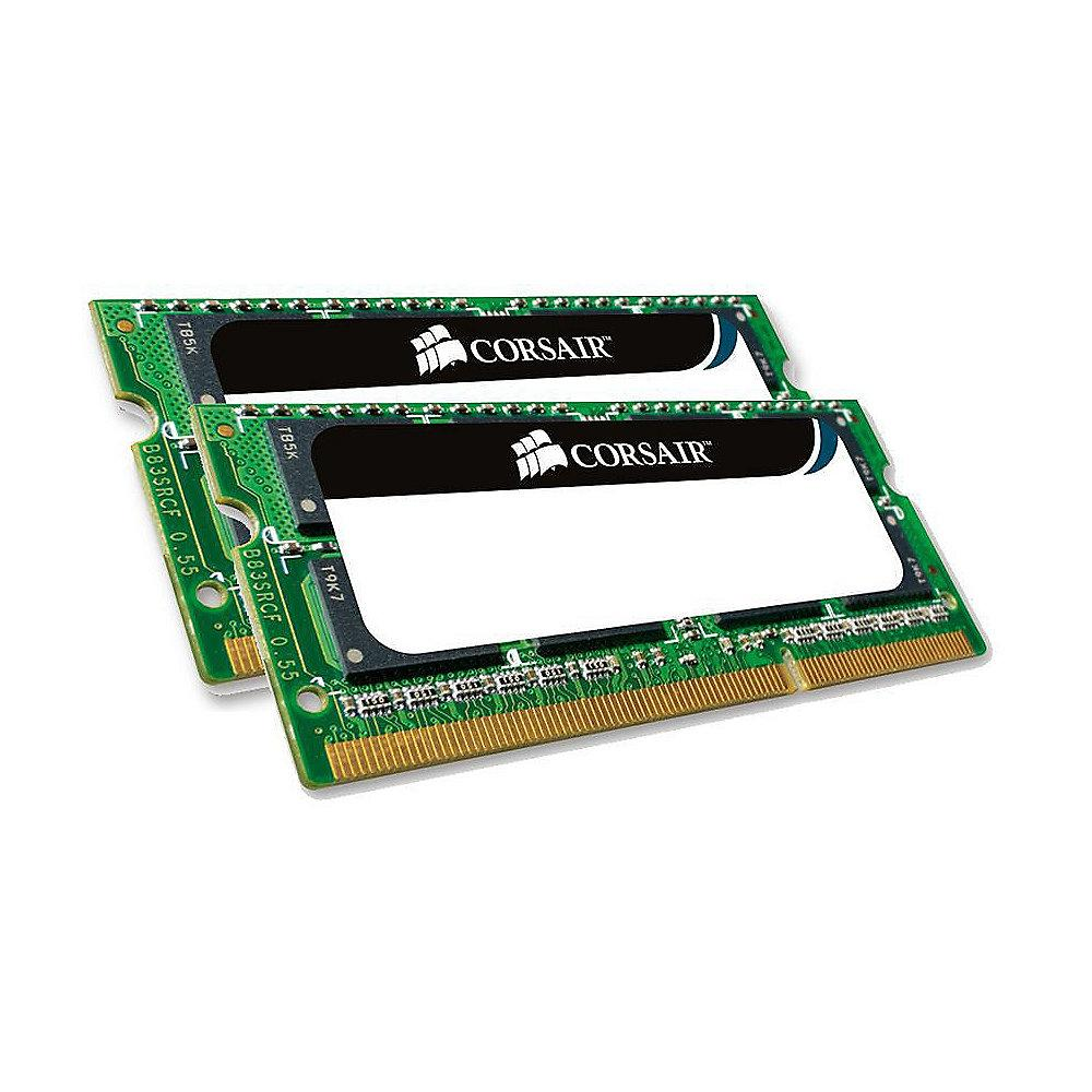 8GB (2x4GB) Corsair ValueSelect DDR3-1066 CL7 (7-7-7-20) RAM SO-DIMM - Kit