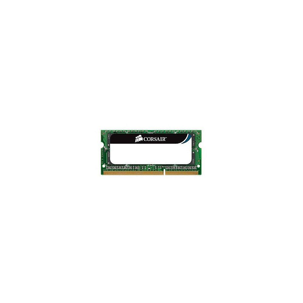 8GB Corsair ValueSelect RAM DDR3L-1333 CL9 (9-9-9-24) SO-DIMM