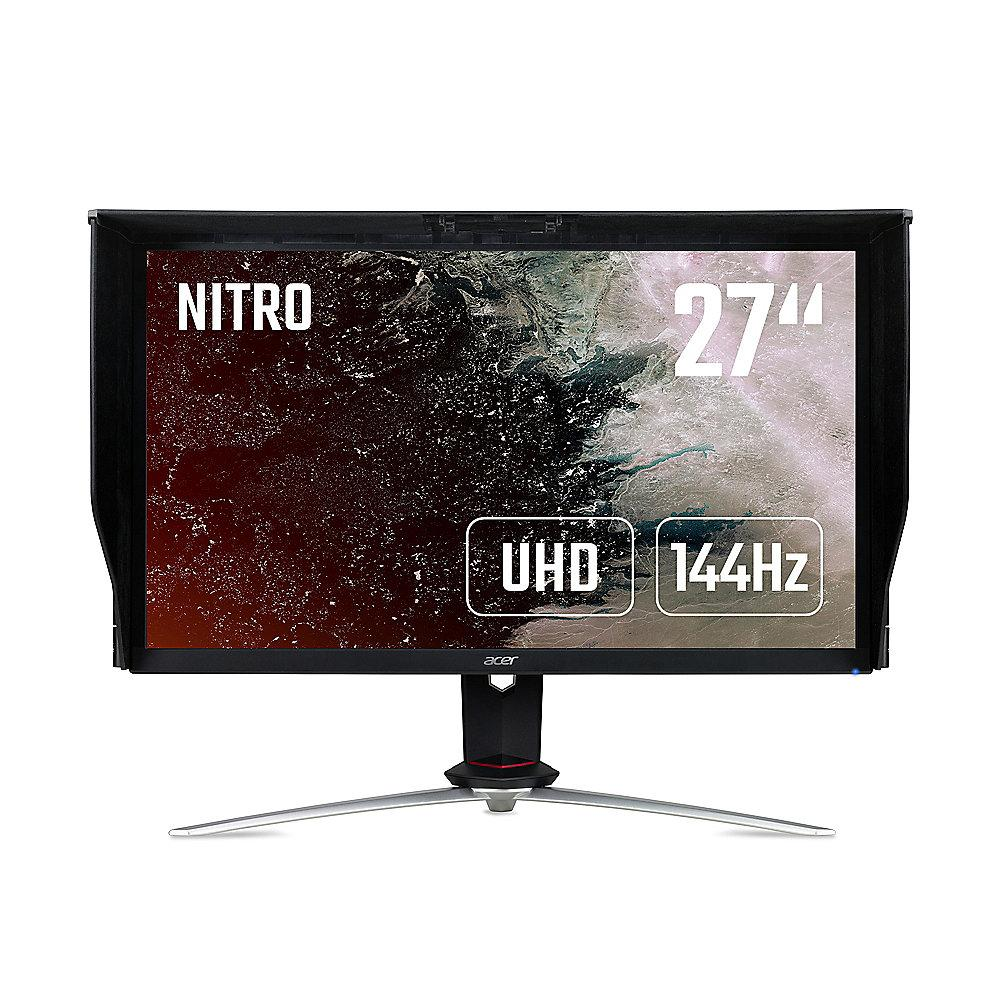 "ACER Nitro XV273KP 69 cm (27"") 4K Gaming-Monitor IPS 144 Hz HDMI/DP AMD FreeSync"