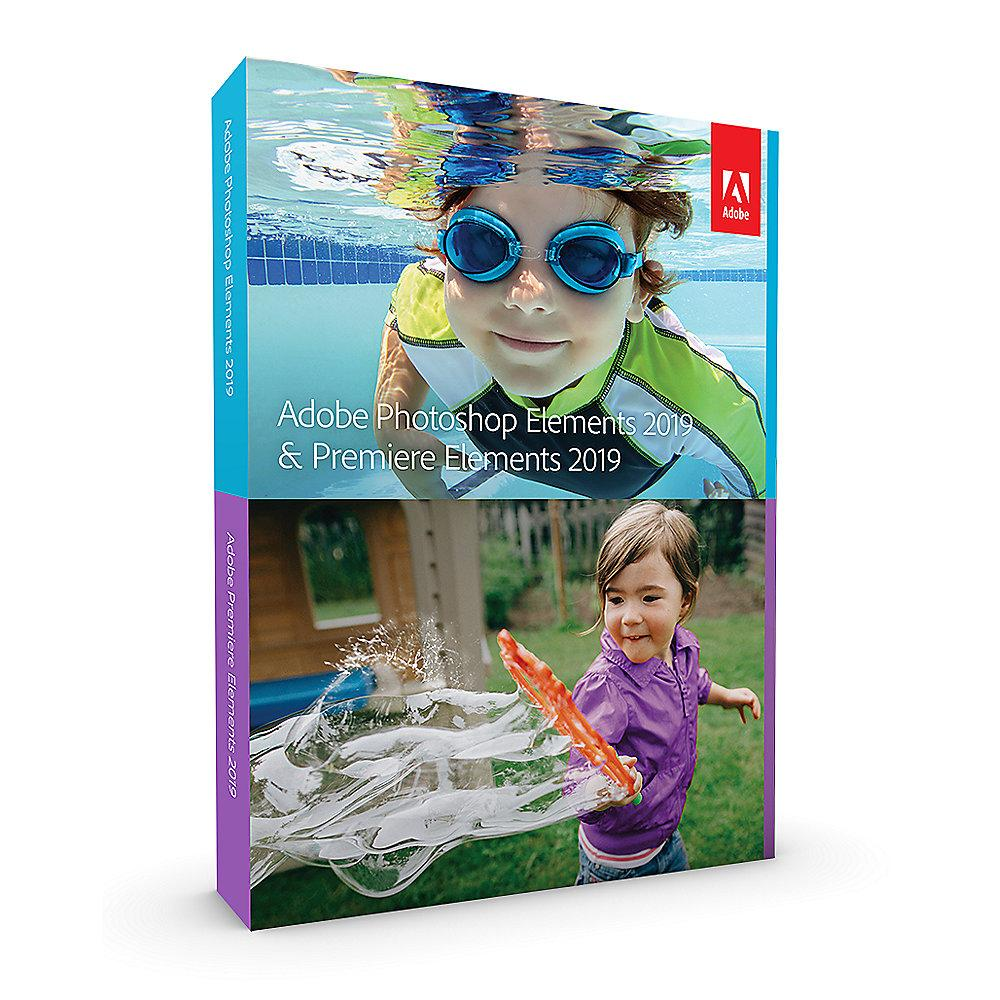Adobe Photoshop & Premiere Elements 2019 Upgrade Minibox ENG, english