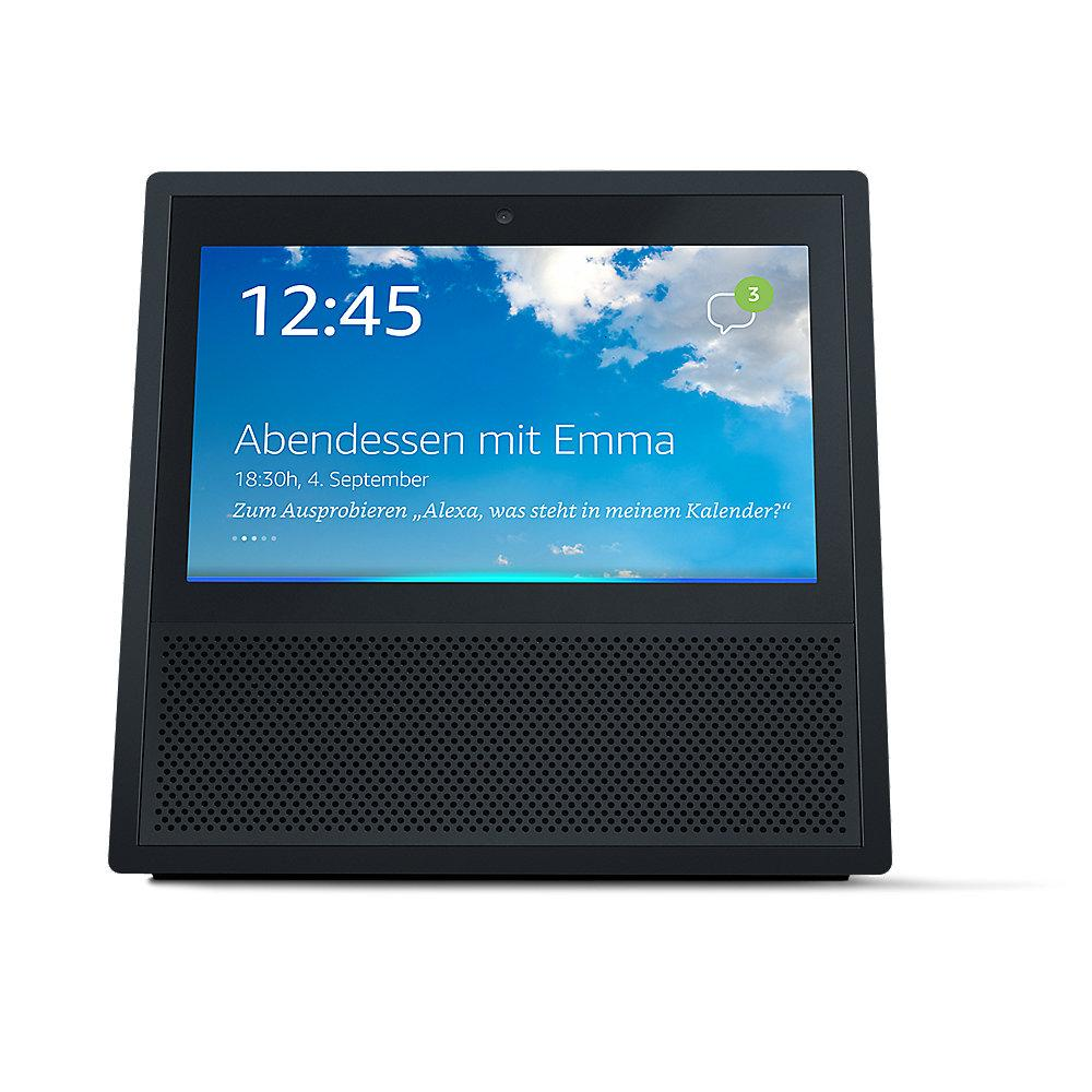 Amazon Echo Show Smart Home Sprachsteuerung schwarz