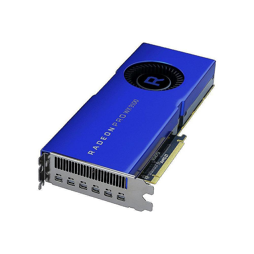 AMD Radeon Pro WX9100 16GB HBM2 PCIe Workstation Grafikkarte 6x DP
