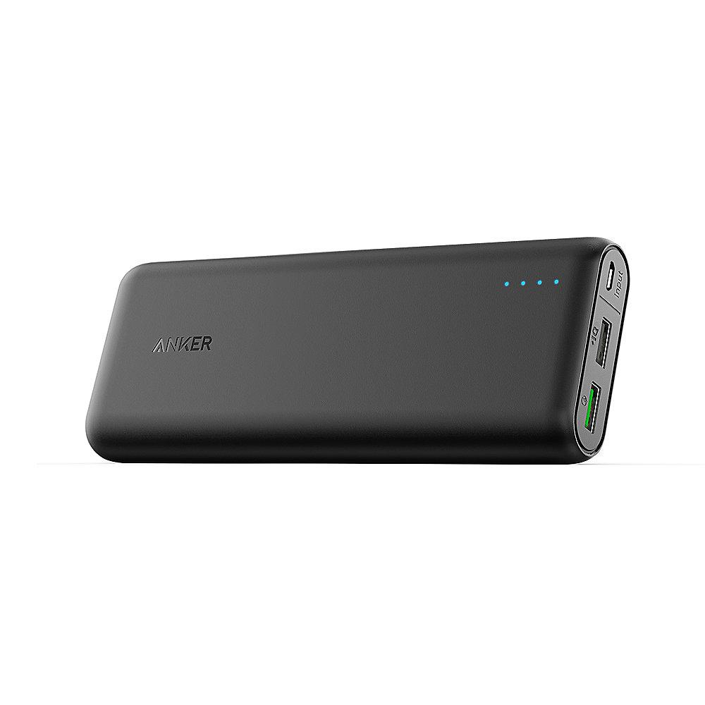 Anker AK-A1272011 PowerCore 20000 mAh Powerbank Quick Charge 3.0 schwarz