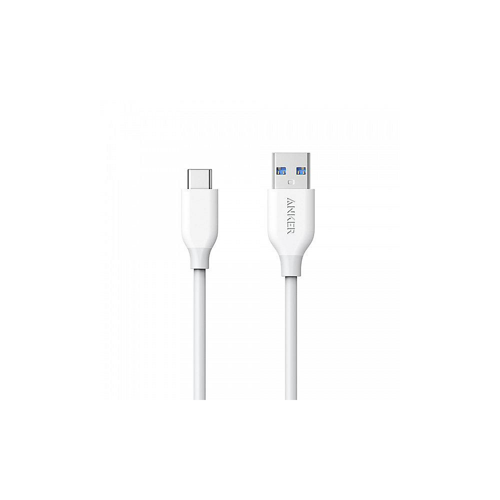 Anker AK-A8163021 Powerline USB-C to USB 0.9m weiss
