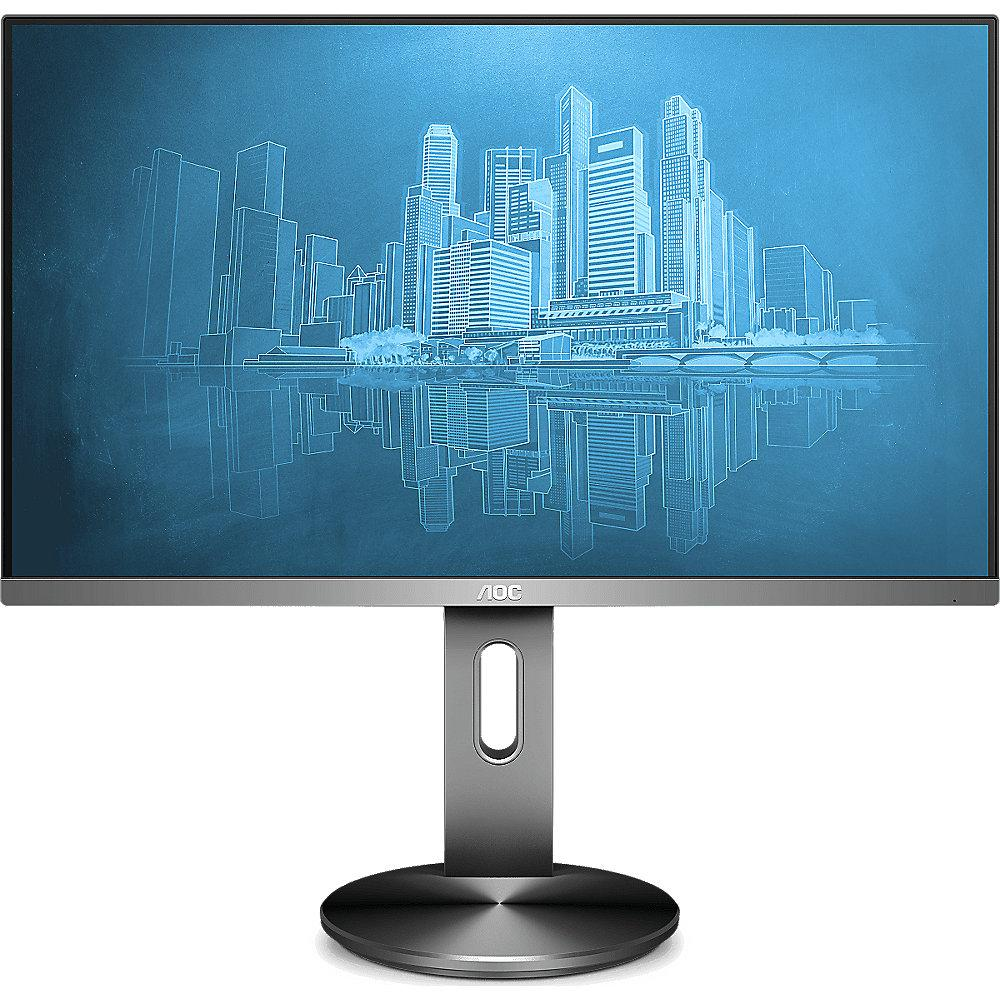 "AOC I2490PXQU/BT 60,5cm (23,8"") Profi-Monitor 16:9 HDMI/VGA/DP 4ms 250cd/m²"