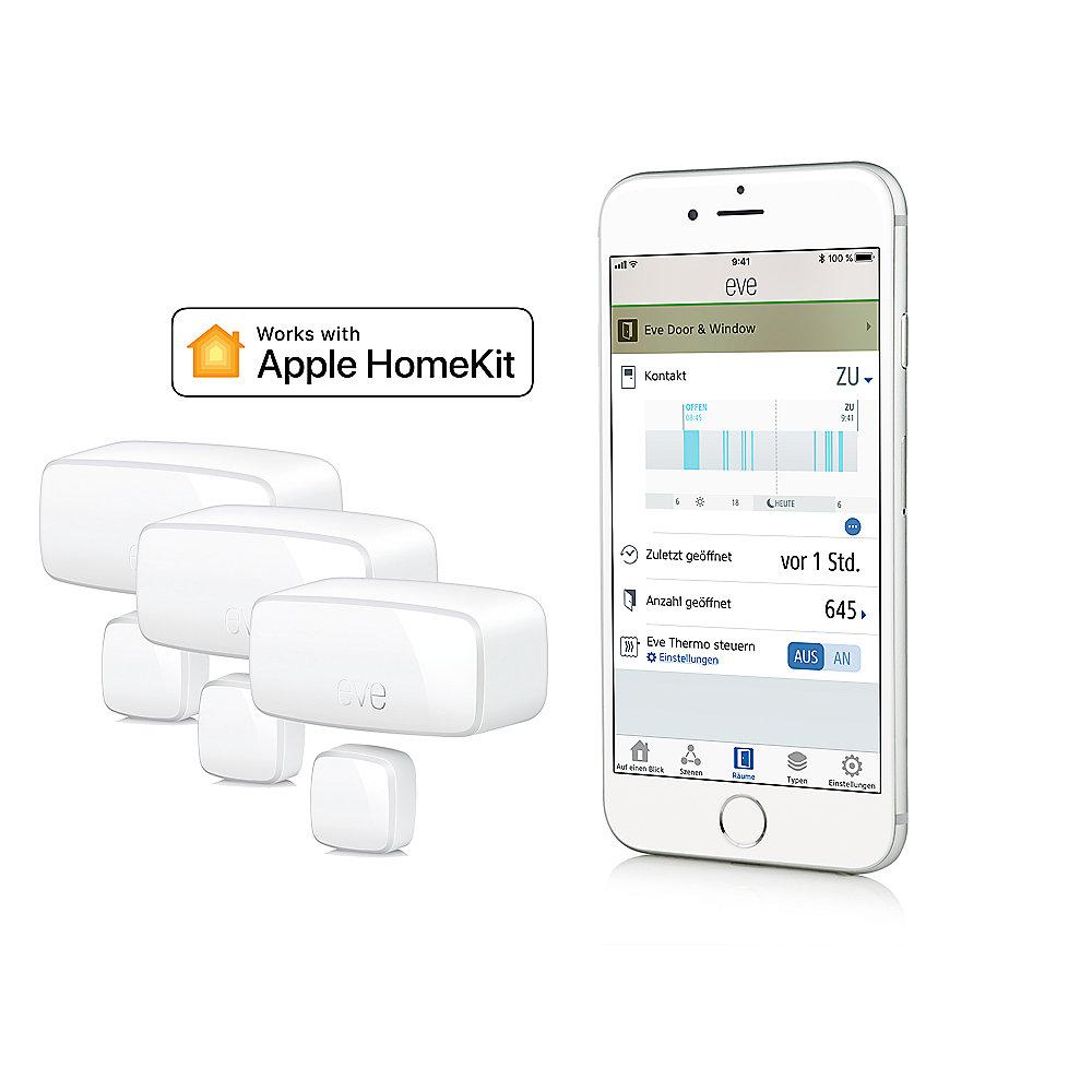 Apple HomeKit Sparpaket mit 3er-Set Eve Door & Window