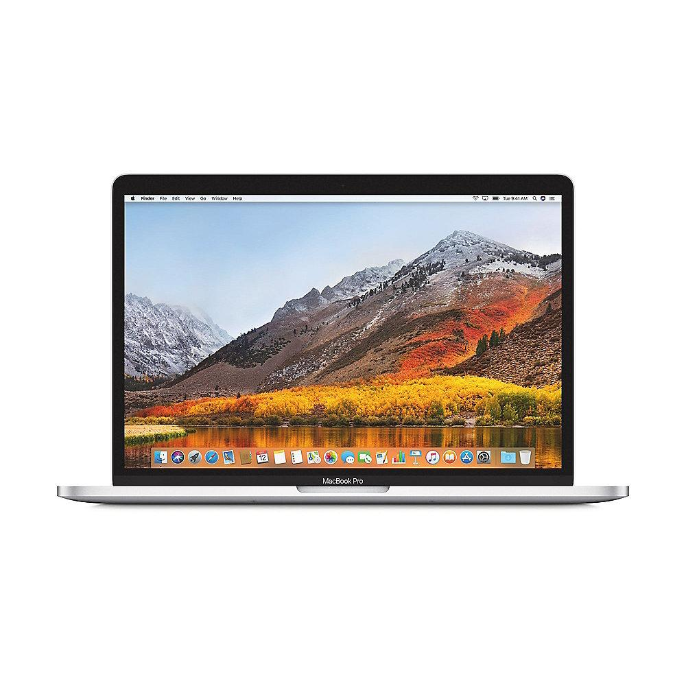 "Apple MacBook Pro 13,3"" Retina 2018 i7 2,7/8/1 TB Touchbar Silber BTO"