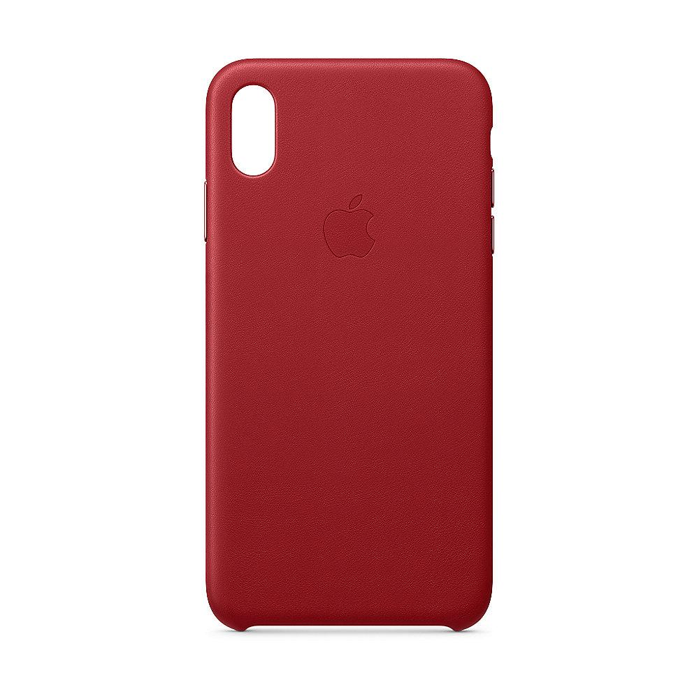 Apple Original iPhone XS Max Leder Case-(PRODUCT)RED