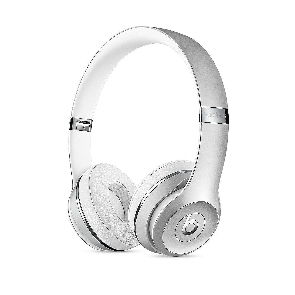 Beats Solo3 Wireless On-Ear Kopfhörer silber