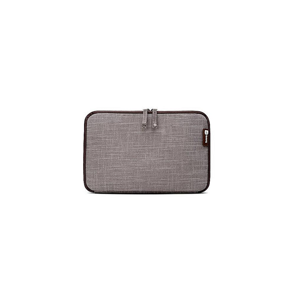 "Booq Mamba Sleeve für MacBook 12"" sand"