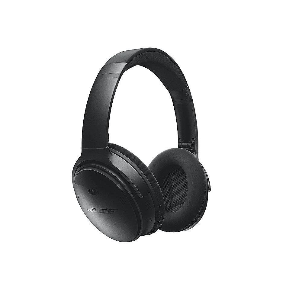 BOSE Quietcomfort 35 QC35 Over Ear Schwarz - Noise Cancelling Wireless Kopfhöre
