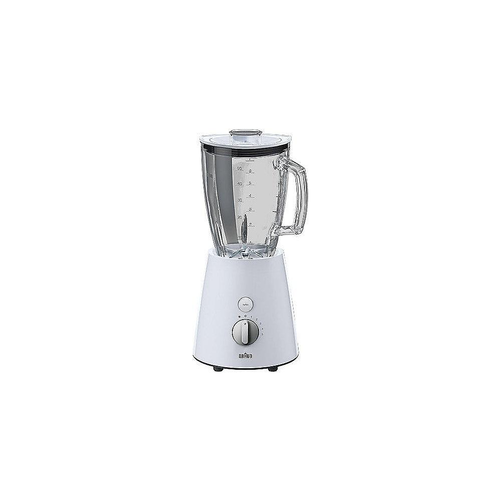Braun JB 3060 Tribute Collection Standmixer weiß / silber