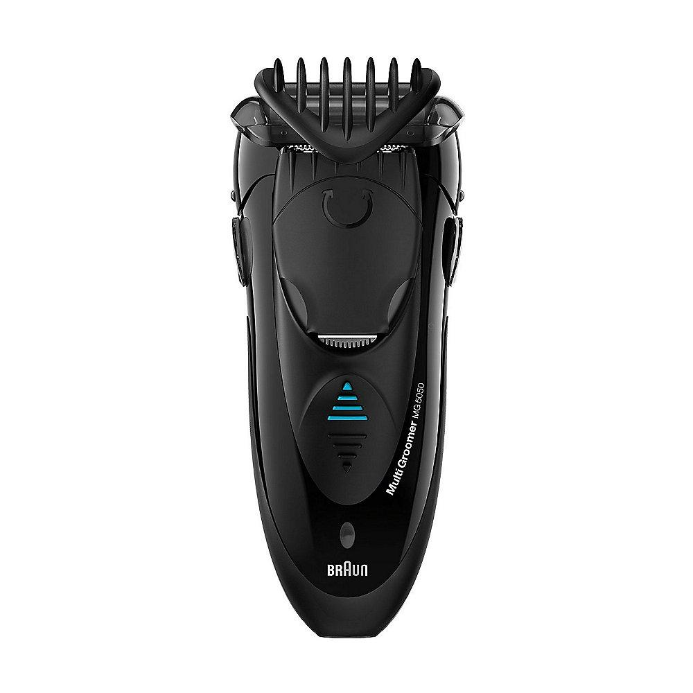 Braun MG5050 MultiGroomer 3in1 - Rasierer, Styler & Trimmer in einem