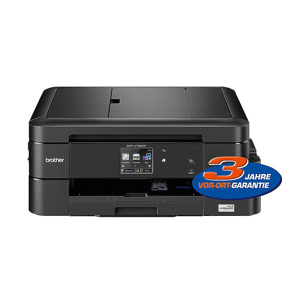 Brother DCP-J785DW Inkbenefit Multifunktionsdrucker Scanner Kopierer WLAN
