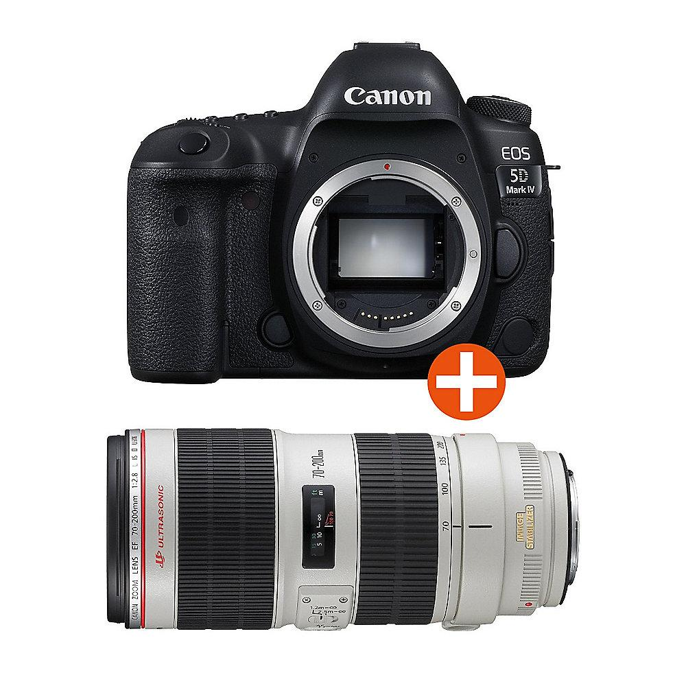 Canon EOS 5D Mark IV Kit EF 70-200mm f/2.8L IS II USM Spiegelreflexkamera
