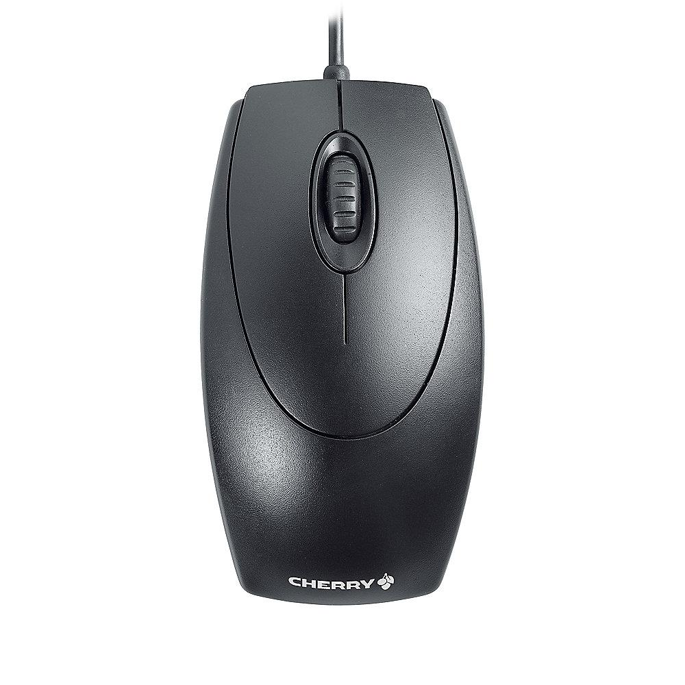 Cherry M-5450 WheelMouse optical USB/ PS/2 schwarz