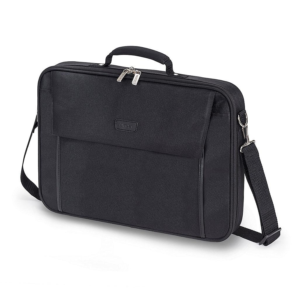 "Dicota Multi Base Notebooktasche 39,6cm (14""-15.6'') schwarz"