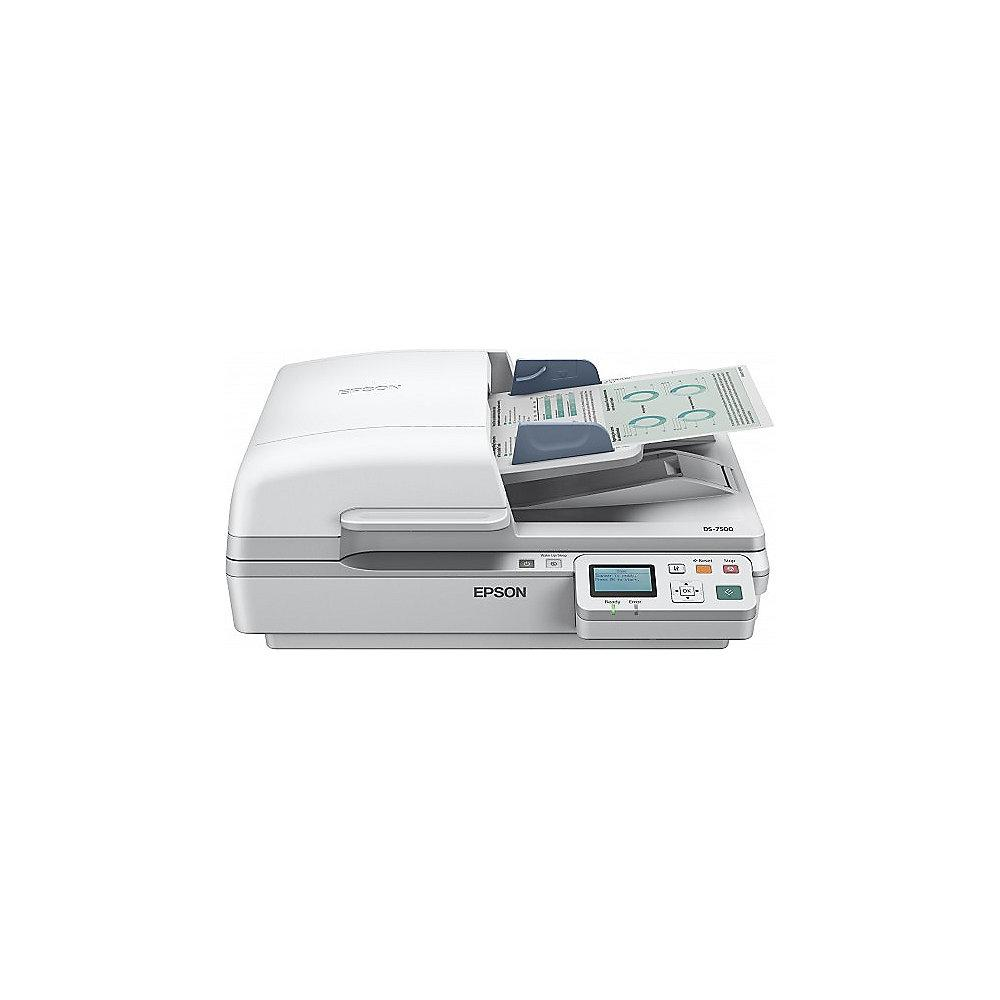 EPSON Workforce DS-6500N Dokumentenscanner Duplex A4