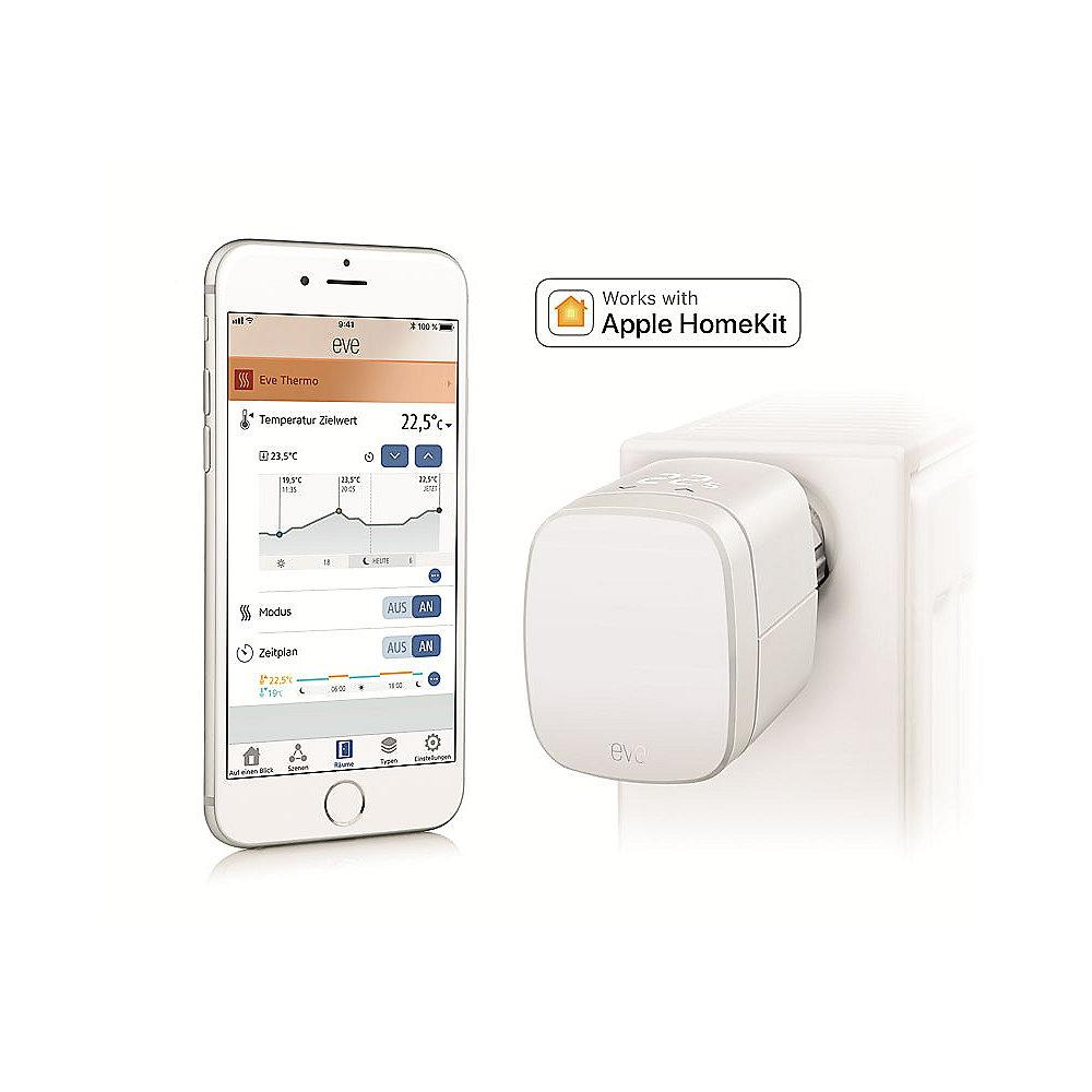 Eve Thermo (2017) Heizkörperthermostat für Apple HomeKit