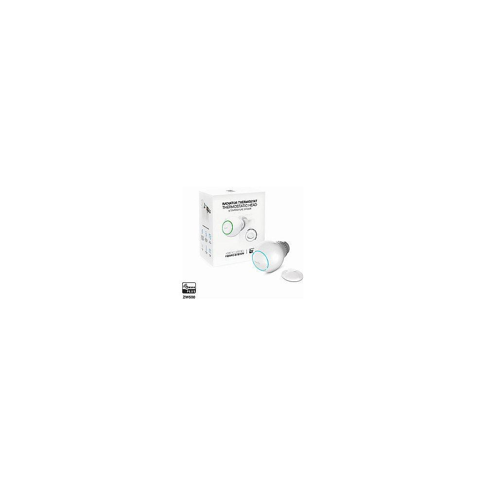 Fibaro Radiator Heizkörperthermostat Starter Set - Z-Wave Plus