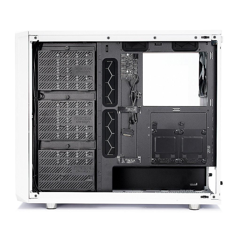 Fractal Design Meshify S2 White Light TG Seitenfenster ATX Gaming Gehäuse