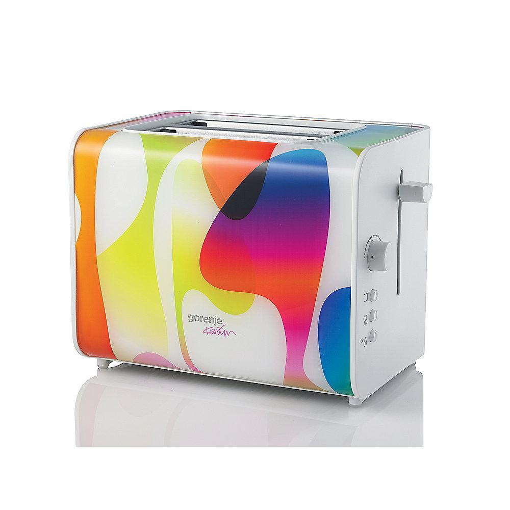 Gorenje T900 KARIM Rashid Collection Toaster multicolour
