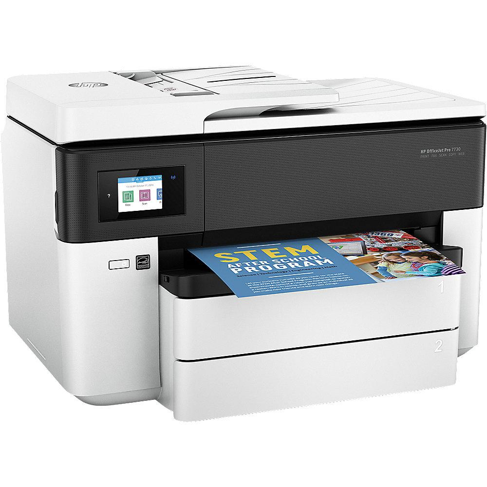 HP OfficeJet Pro 7730 MFG Drucker Scanner Kopierer Fax WLAN A3   20€