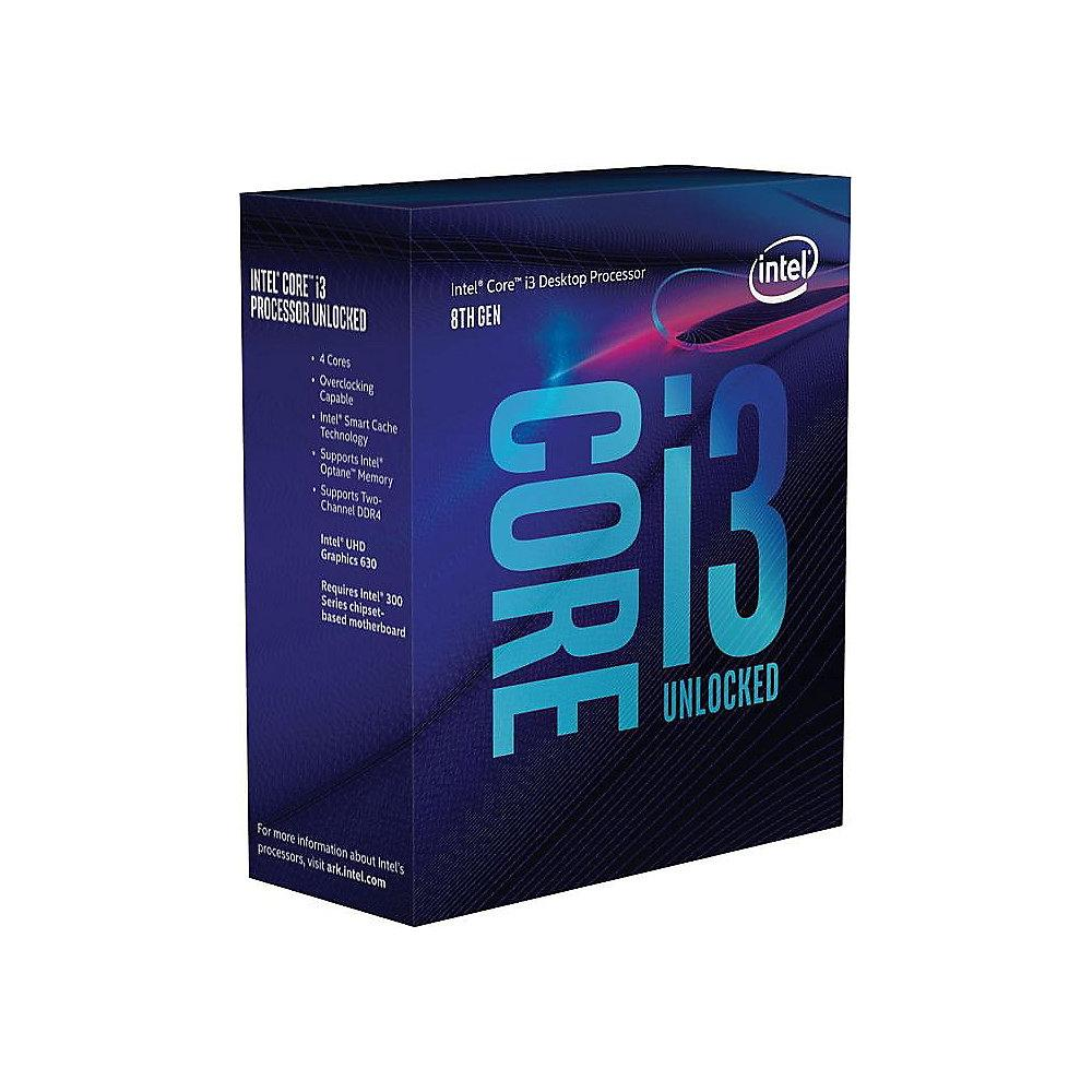 Intel Core i3-8300 4x3,7 GHz 8MB-L3 Cache Sockel 1151 (Coffee Lake)