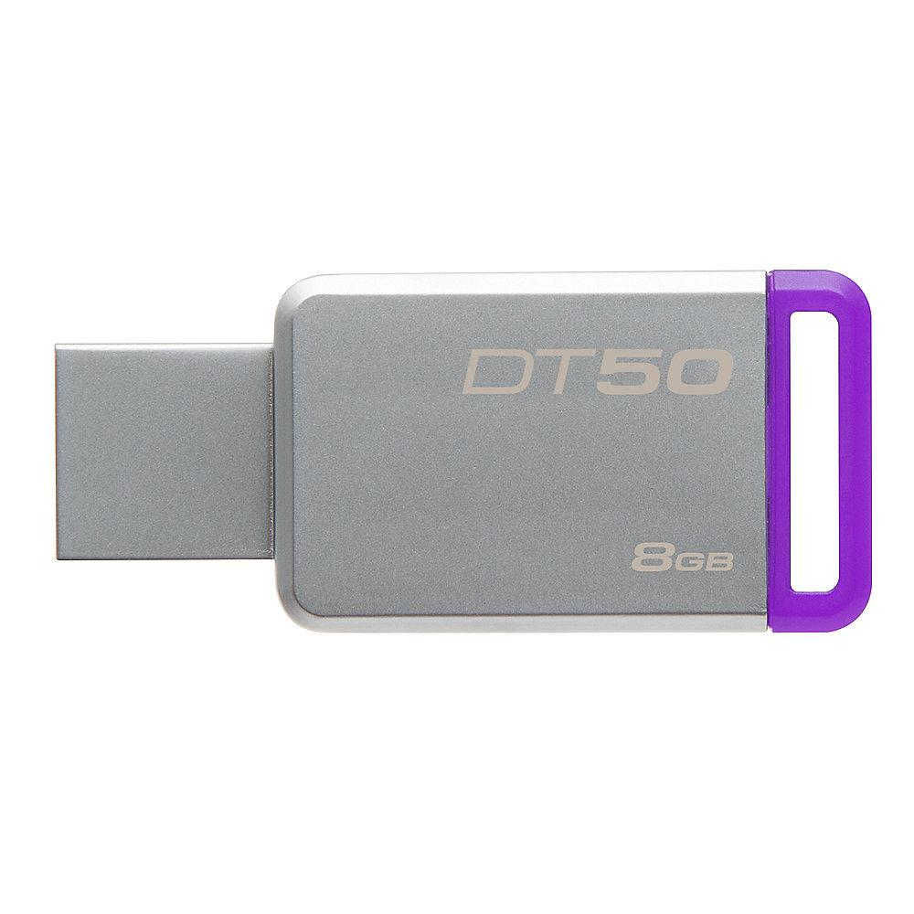 Kingston 8GB DataTraveler 50 USB 3.1 Stick