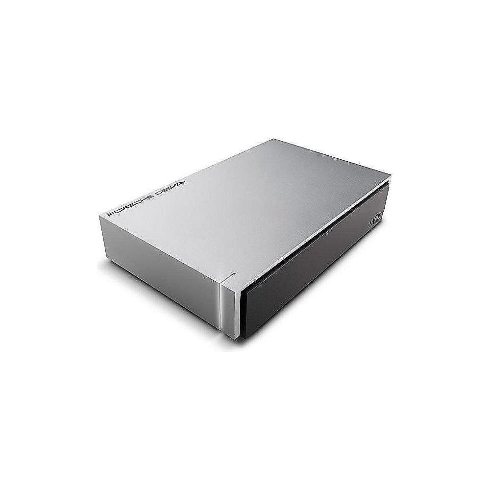 LaCie Porsche Design Desktop Drive P9233 USB 3.0 - 4TB 3.5 Zoll Light Grey
