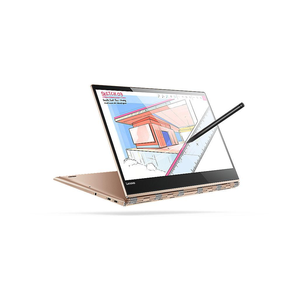 Lenovo Yoga 920-13IKB 2in1 Touch Notebook kupfer i5-8250U SSD Full HD Windows 10