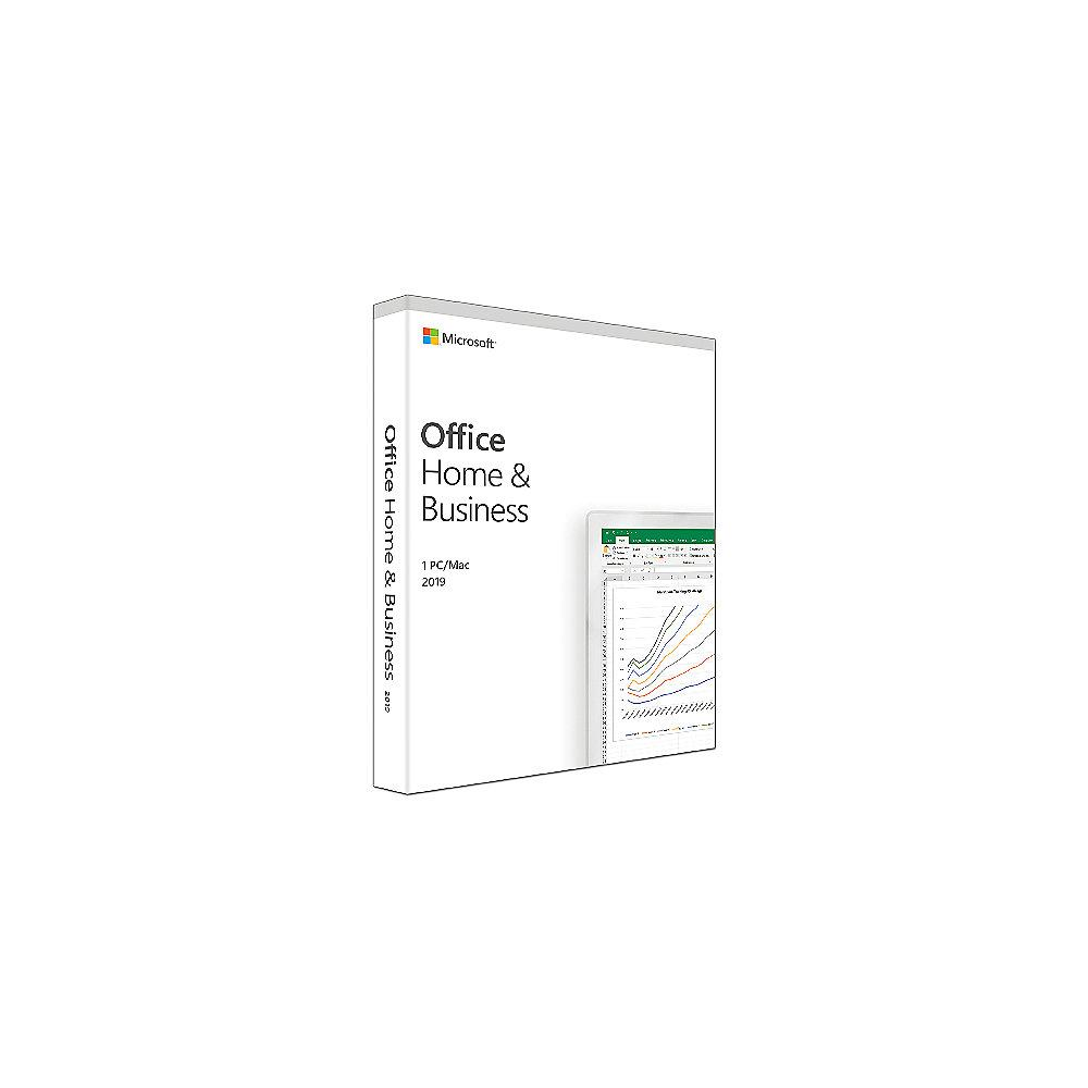 Microsoft Office Home & Business 2019 (1 Benutzer/ 1PC/Mac) EN Mac/Win