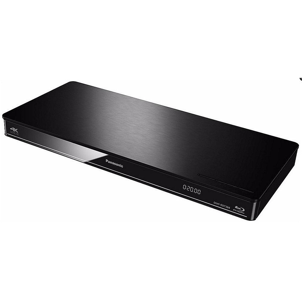 Panasonic DMP-BDT384 Schwarz 3D Blu-ray Player WLAN 4K DLNA