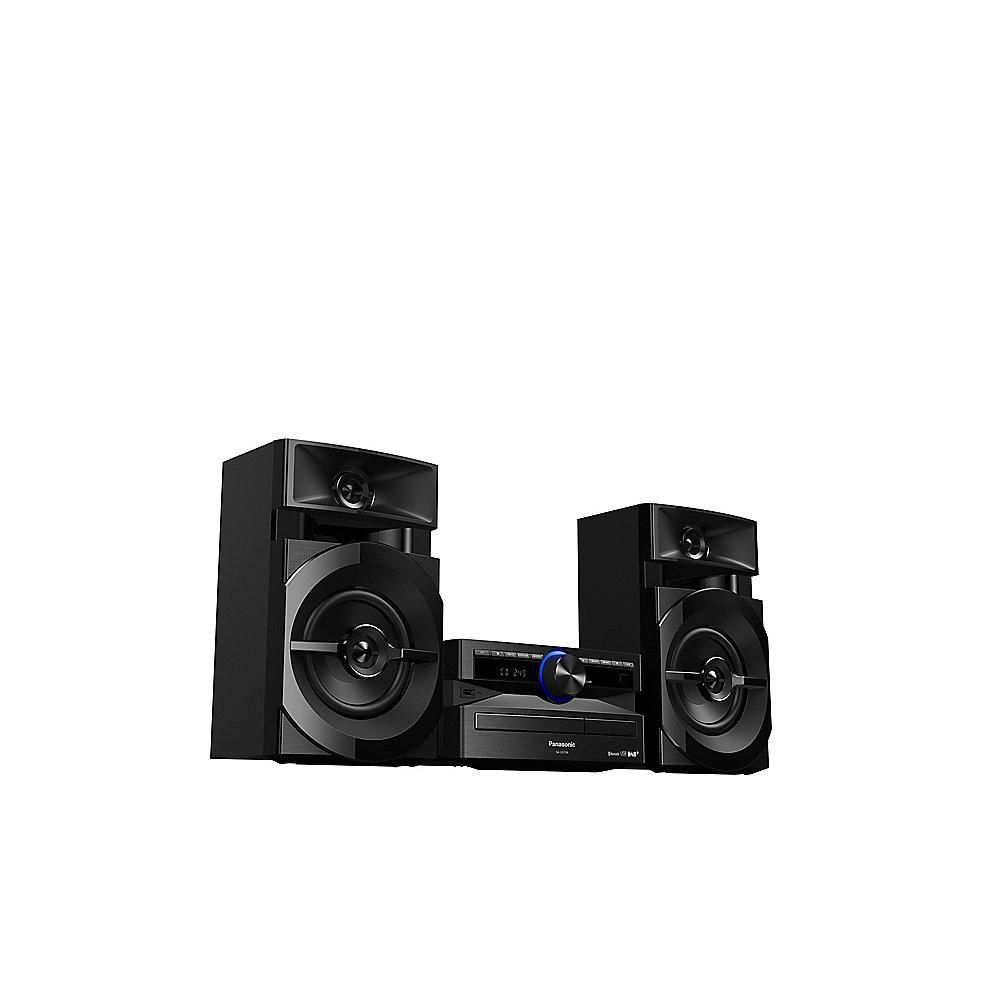Panasonic SC-UX104 CD-Mini HiFi System DAB  Bluetooth schwarz