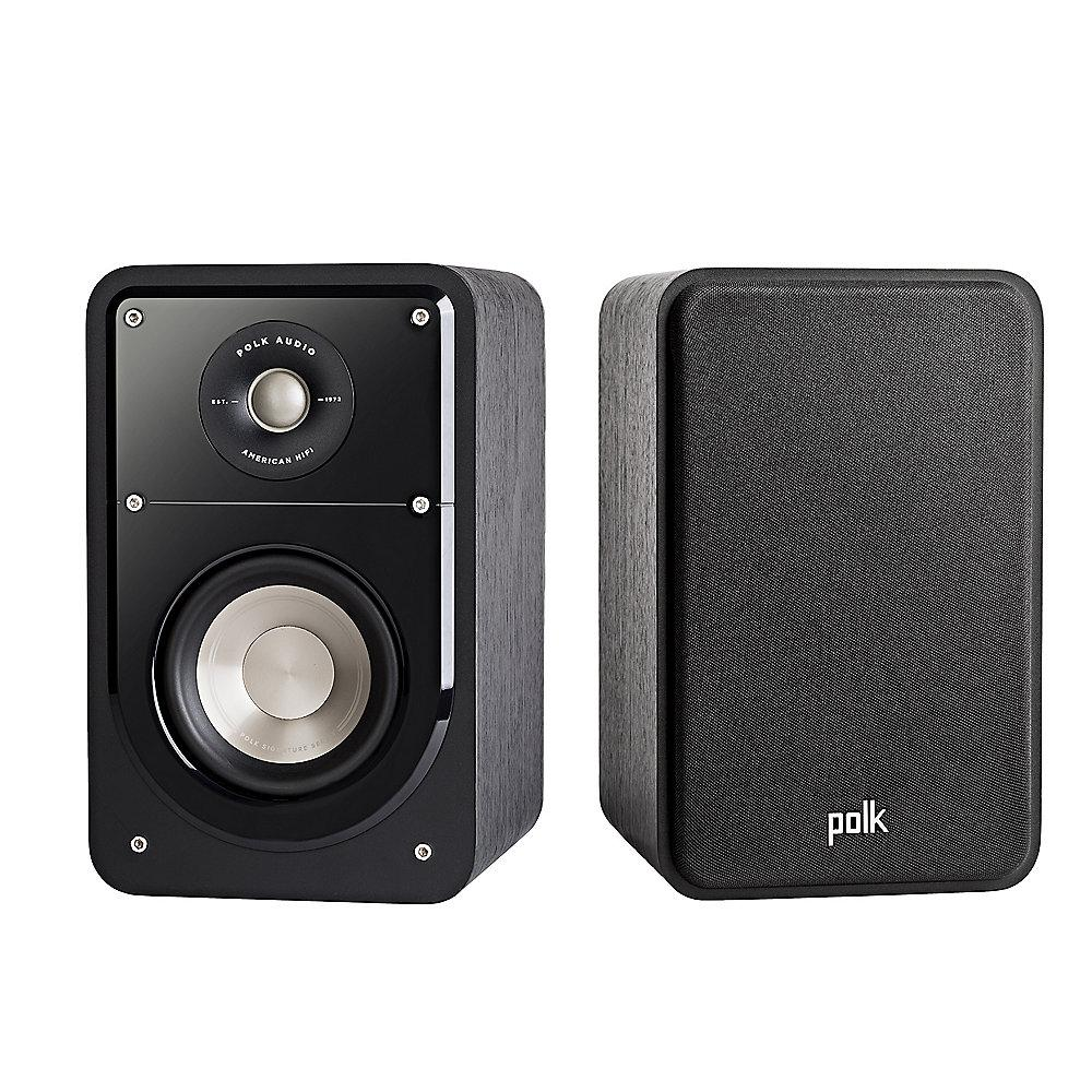Polk Signature S15 Regallautsprecher High-Res Standard schwarz –Paar-