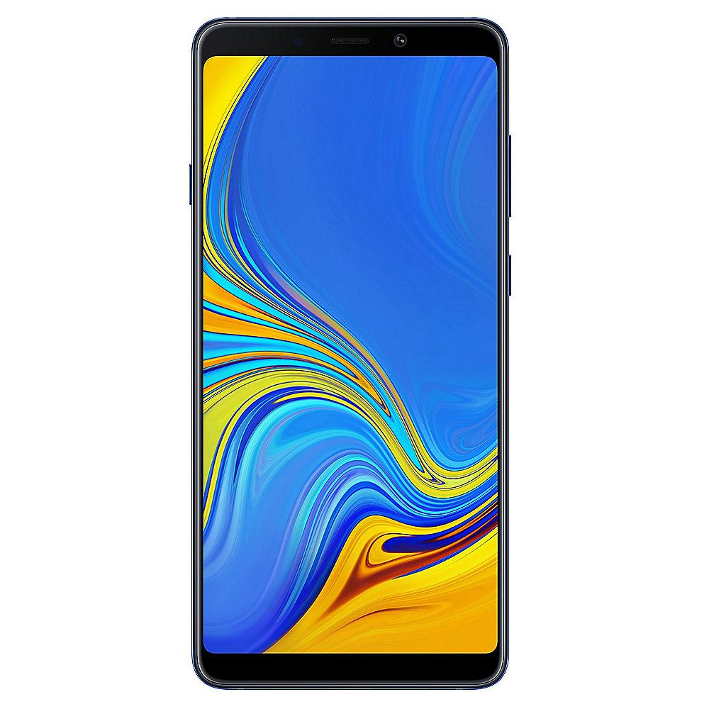 Samsung GALAXY A9 (2018) A920F lemonade blue Android 8 mit Quad-Kamera