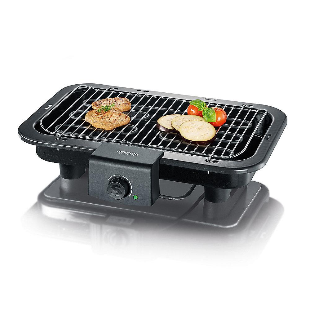 Severin PG 8518 Barbecue-Grill schwarz