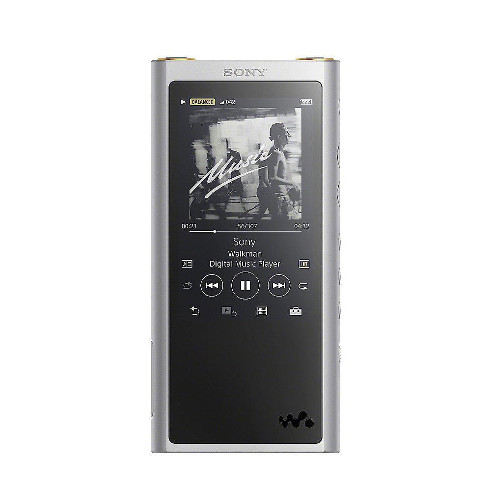 SONY NW-ZX300 High-Resolution Walkman MP3 Player silber Bluetooth NFC