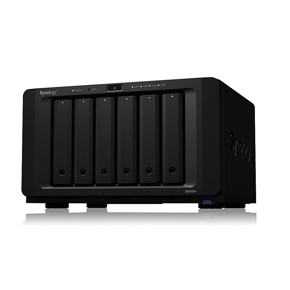 Synology Diskstation DS1618  NAS System 6-Bay