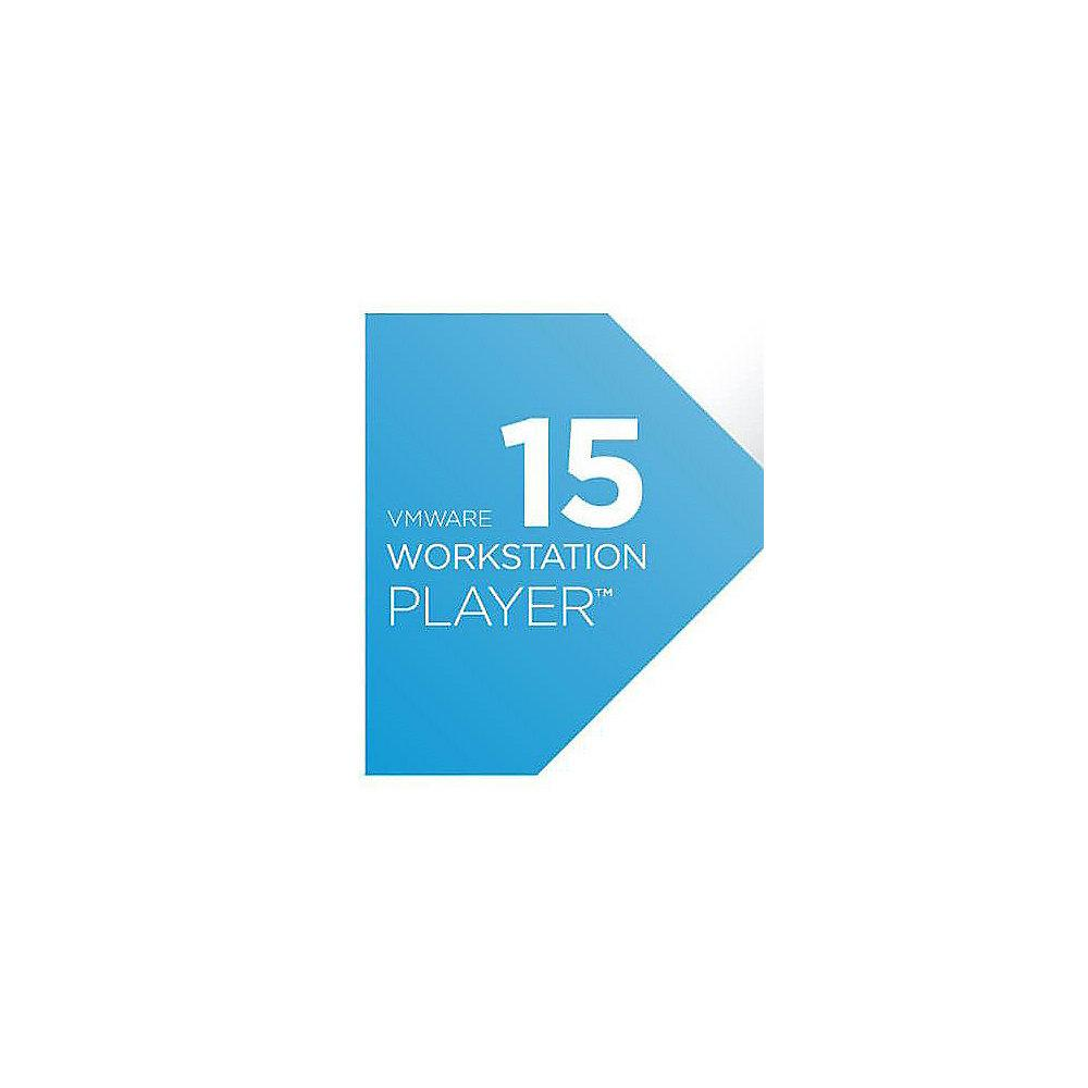 VMware Workstation 15 Player Lizenz EDU, EN