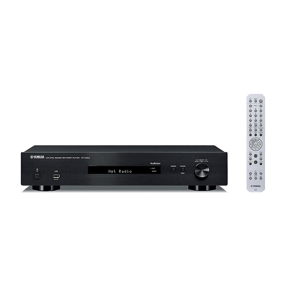 Yamaha NP-S303 Multiroom MusicCast Streaming Client Bluetooth Airplay schwarz