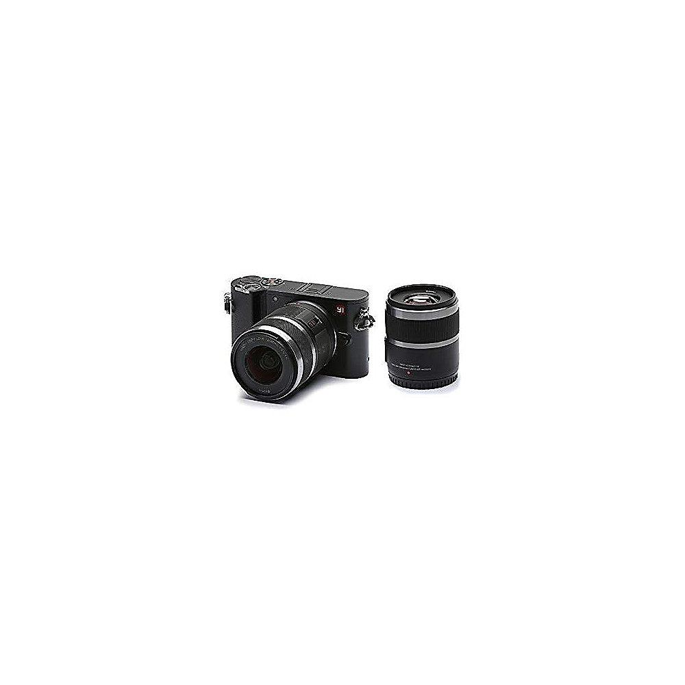 YI Technology M1 Doppel-Lens-Kit 12-40mm/F3,5-5,6   42,5mm/F1,8 Systemkamera