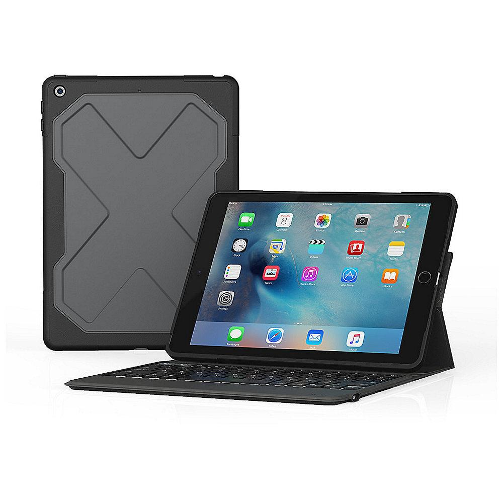 ZAGG Rugged Messenger Tastatur für iPad 9.7 (2017)
