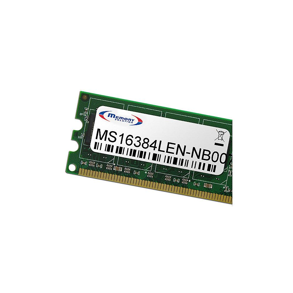 16GB Memorysolution DDR3L-1600 Lenovo ThinkPad T450s SO-DIMM RAM