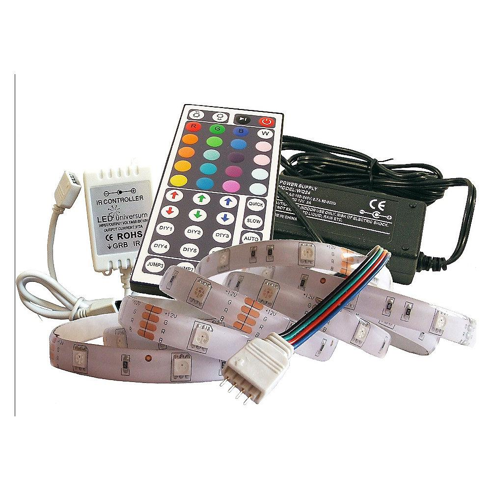 3 m RGB LED Streifen Set(30 LED/m, IP65) inkl. Controller